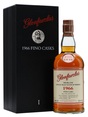 1966 Glenfarclas Fino Casks Single Malt 700ml-Scottish Single Malts Speyside-Eight PM