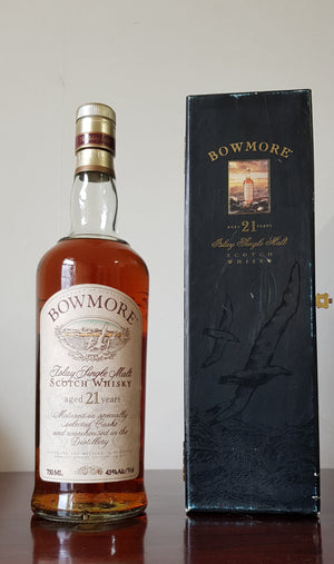 Bowmore 21 Year Old 1990s 700ml