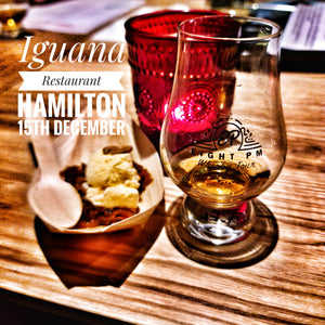 When Gin meets Whisky Christmas Dinner - Hamilton 15th December Iguana Restaurant