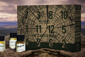 Drinks By The Dram 12 Days of Whisky Gift Pack