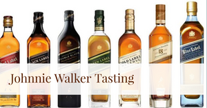 Johnnie Walker Vertical Tasting @ Good Home Mt Eden