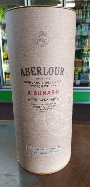 "Aberlour A'Bunadh ""Batch #64"" Cask Strength 700ml 59.9%-Scottish Single Malts Speyside-Eight PM"