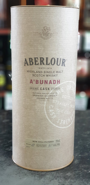 Aberlour A'bunadh Batch 65 700ml 59.5%