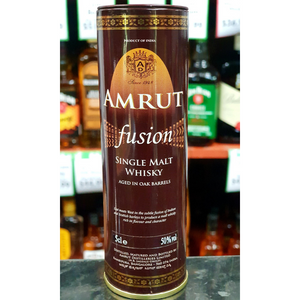 Amrut Fusion Whisky Miniature 50ml-Indian Whisky-Eight PM