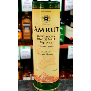 Amrut Peated Whisky Miniature 50ml-Indian Whisky-Eight PM