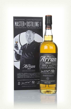 Arran Master of Distilling II - The Man with the Golden Glass 700mlScottish Single Malts HighlandEight PM