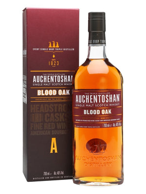 Auchentoshan Blood Oak Single Malt Scotch Whisky 700ml