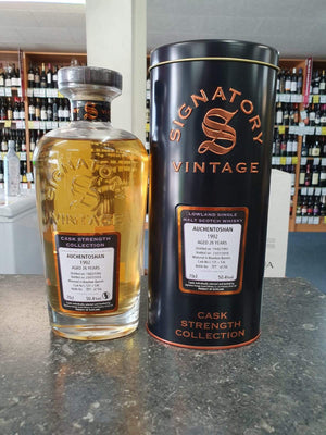 Auchentoshan 'Signatory' 1992 / 26 years old 50.4%