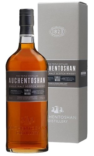Auchentoshan Three Wood Lowland Single Malt Whisky 700mlScottish Single Malts LowlandEight PM