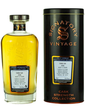 Caol Ila 'Signatory' 2006 / 12 years old 55.9% 700ml