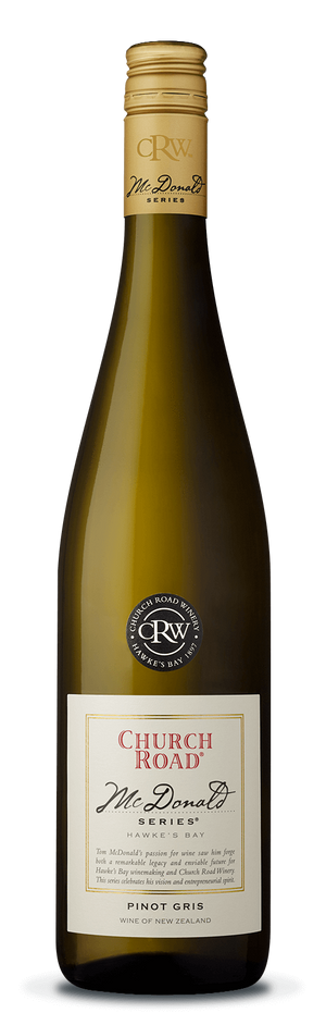 Church Road McDonald Series Pinot Gris 2018