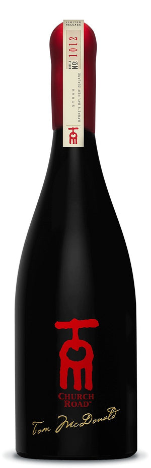 Church Road TOM Syrah 2015 750mlred wineEight PM