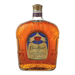 CROWN ROYAL WHISKY 1000 ML-Canadian Whisky-Eight PM