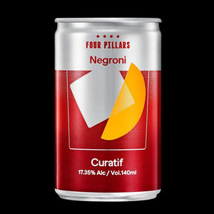 Curatif Four Pillars Spiced Negroni 140mL x 4rtdEight PM
