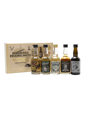 Douglas Laing Remarkable Regional Malts Mini Pack 5 x 50ml