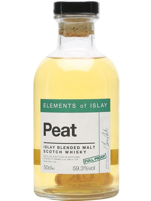 Elements of Islay Peat Full Proof 500mlScottish Single Malts IslayEight PM