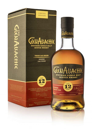 GlenAllachie 12 Year Old Spanish Virgin Oak Finish