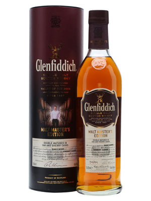 Glenfiddich Malt Master's Edition + 2 Glasses 700ml-Scottish Single Malts Speyside-Eight PM