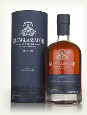 Glenglassaugh Peated Port Wood Finish 700ml 46%-Scottish Single Malts Highland-Eight PM