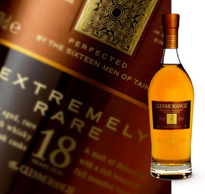 Glenmorangie 18 Year Old Extremely Rare Single Malt 700ml