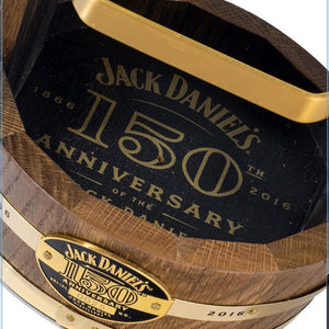 Jack Daniel's 150th Anniversary Tennessee Whiskey Cradle + 1750ml Old No.7 Bottle