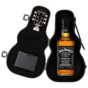 Jack Daniels Tennesssee Whiskey Guitar Gift 700ml