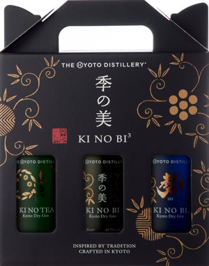 Ki No Bi - 'Three Gin' Gift Pack 3x200ml