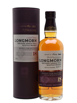 Longmorn 18 Year Old Secret Speyside 700ml