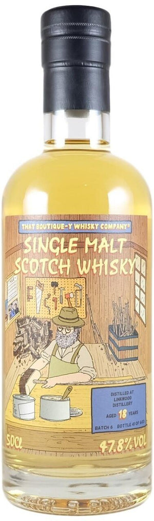 Linkwood 18 Year Old Batch 6 (That Boutique-y Whisky Company) 500mlScottish Single Malts SpeysideEight PM
