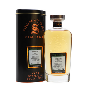 Longmorn 'Signatory' 2002 / 15 years old 57.2% 700ml-Scottish Single Malts Speyside-Eight PM