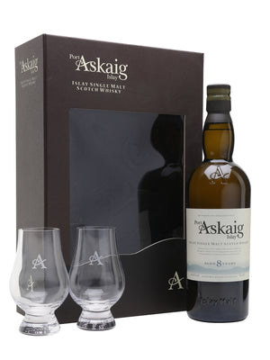 Port Askaig 8 Year Old Glass Set 700ml