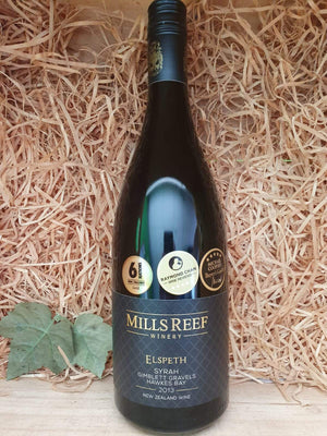 Mills Reef Elspeth Syrah 2013-red wine-Eight PM