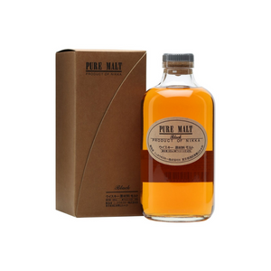 Nikka Pure Malt Black 500ml 43%-Japanese Whisky-Eight PM