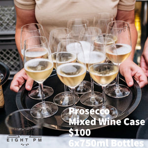 Prosecco Wine Mixed Case Deal $90 6x750ml BottleswinesEight PM
