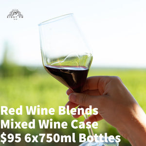 Red Wine Blends Mixed Case $95 6x750ml