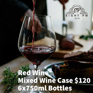 Red Wine Mixed Case $120 6x750ml