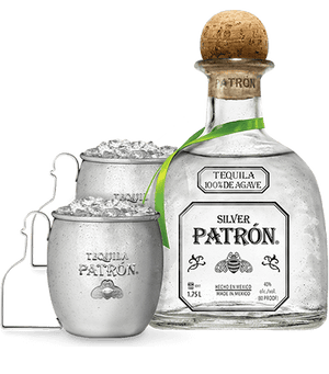 Patron Silver Limited Edition Mule Mug Set