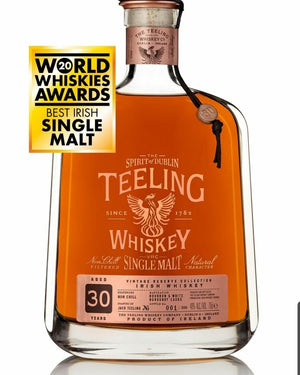 Teeling 30 Year Old Irish Single Malt Vintage Reserve 700ml