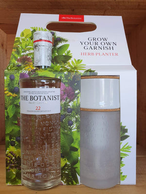 The Botanist Gin 700ml + Herb Planter