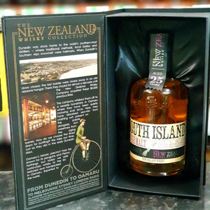 The NZ Whisky Collection 25YO South Island 350ml