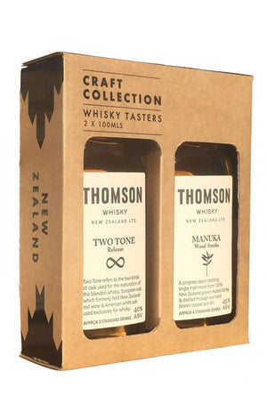 Thomson Craft Collection 2x100ml Gift PackNew Zealand WhiskeyEight PM