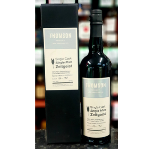 Thomson 'Zeitgeist' Single Cask 46%-New Zealand Whiskey-Eight PM