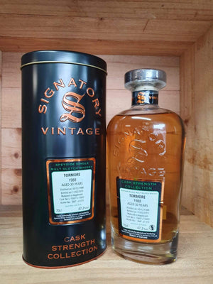 Tormore 'Signatory' 1988 / 30 years old 47.2%
