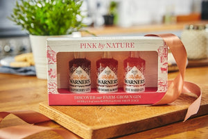 Warner's Pink by Nature Gin Gift Set