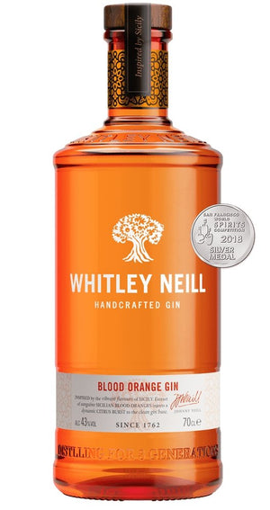 Whitley Neill Blood Orange Gin 700ml 43%