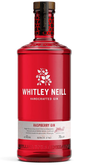 Whitley Neill Raspberry Gin 700ml 43%