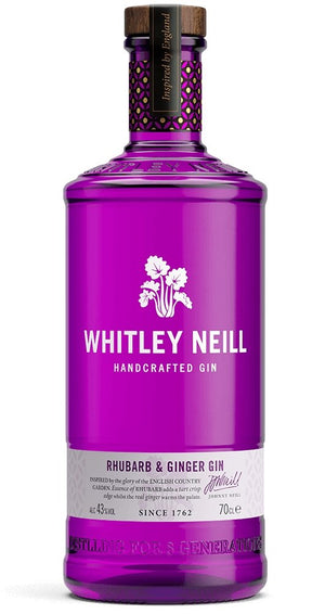 Whitley Neill Rhubarb & Ginger Small Batch 700ml