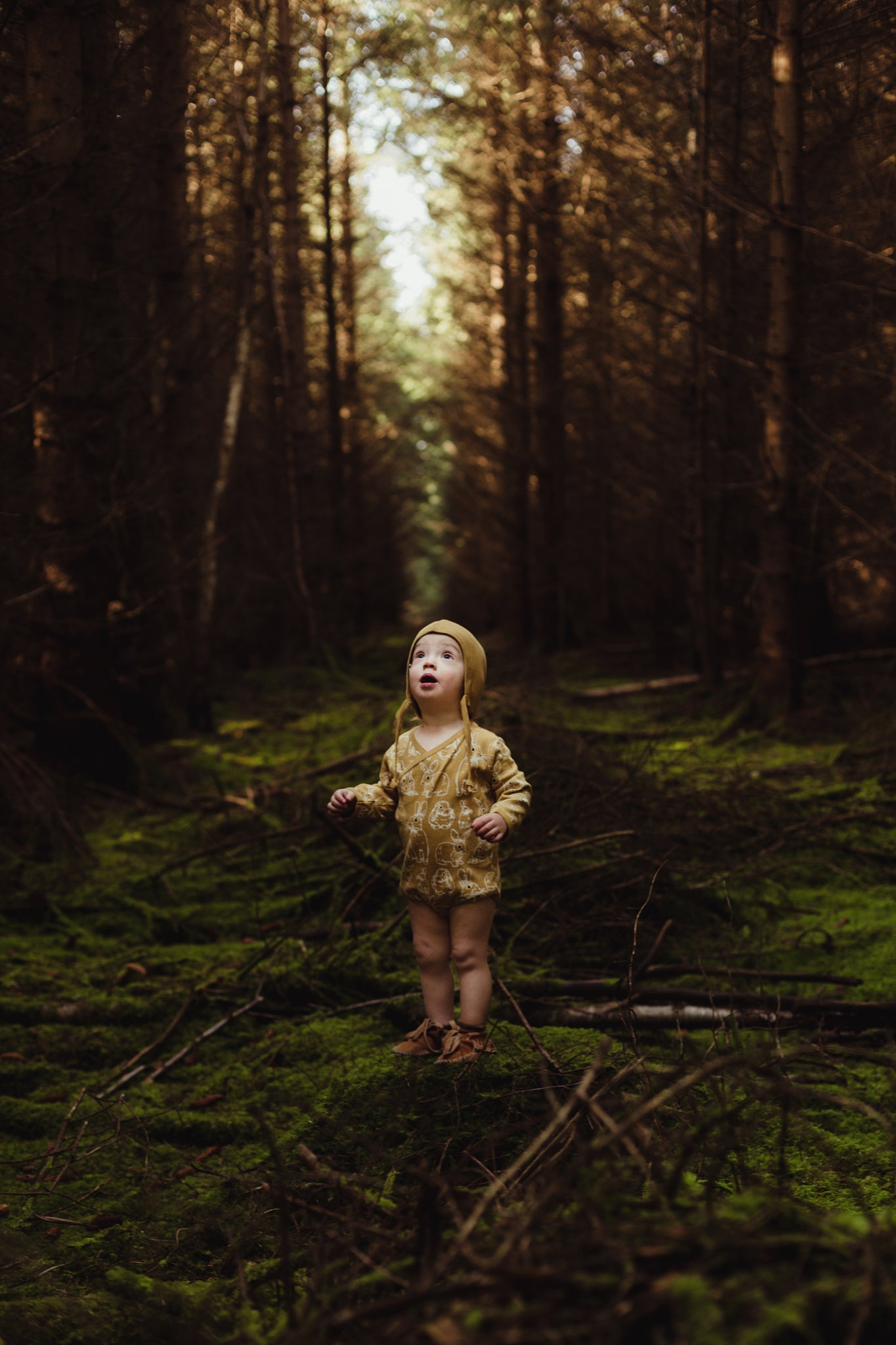 Woodland Photoshoot by Annie Thompson