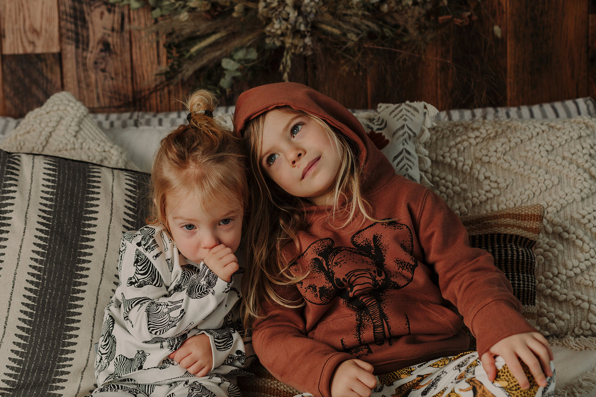 Fauna Kids Fauna Apparel Kids organic clothing designed in Ireland handprinted