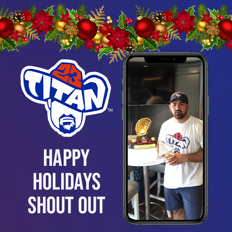Titan23 Holiday Shout Out